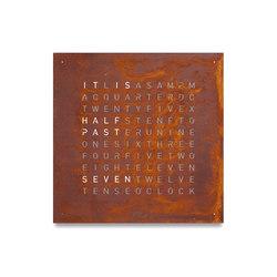 QLOCKTWO® CLASSIC CREATOR'S EDITION Rust | Clocks | BIEGERT&FUNK