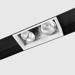 Prologe 145 in-Line/in-Dolma Double Directional | Track lighting | Kreon