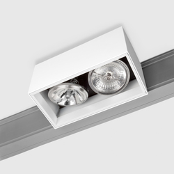 Prologe 145 on-Regule Double/Fluo Dimmable | Raíles electrificados | Kreon