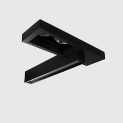 Regard Double | Ceiling-mounted spotlights | Kreon