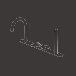 Ziqq ZIQ47 | Bath taps | CEADESIGN