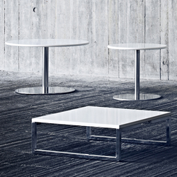 Mirror coffee table | Tavoli bassi da giardino | Softline A/S