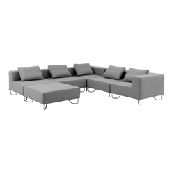 Lotus sofa | Modular seating systems | Softline A/S