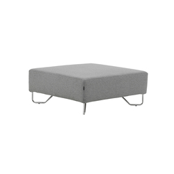 Lotus pouf | Modular seating elements | Softline A/S