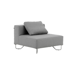 Lotus single | Modular seating elements | Softline A/S