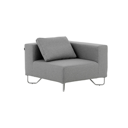 Lotus corner | Modular seating elements | Softline A/S