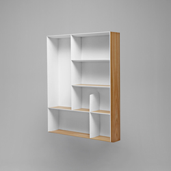 D.357.2 Bookcase | Baldas / estantes de pared | Molteni & C