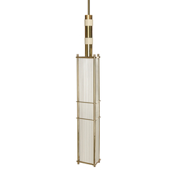 Arbor Pendant White & Brass | General lighting | Bert Frank