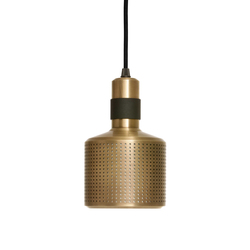 Riddle Pendant Black & Brass | Iluminación general | Bert Frank