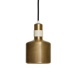 Riddle Pendant White & Brass | Iluminación general | Bert Frank