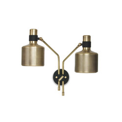 Riddle Double Wall Light | Lampade parete | Bert Frank