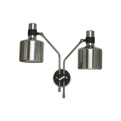 Riddle Wall light Black & Chrome | Allgemeinbeleuchtung | Bert Frank