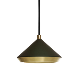 Shear Pendant Black & Brass | General lighting | Bert Frank