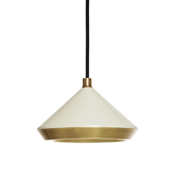 Shear Pendant White & Brass | General lighting | Bert Frank
