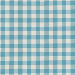 NIZZA-CHECK - 92 AQUA | Outdoor upholstery fabrics | Nya Nordiska