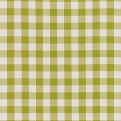 NIZZA-CHECK - 93 LIME | Outdoor upholstery fabrics | Nya Nordiska