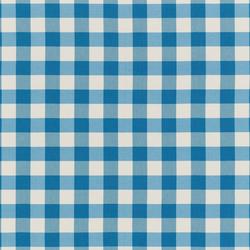 NIZZA-CHECK - 95 AZURE | Outdoor upholstery fabrics | Nya Nordiska