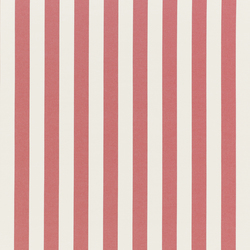 NIZZA-STRIPE - 47 RED | Outdoor upholstery fabrics | Nya Nordiska