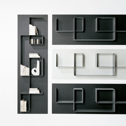 Square | Wall shelves | Tisettanta