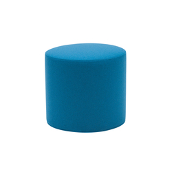 Drum pouf high | Poufs | Softline A/S