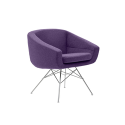 Aiko lounge chair | Poltrone lounge | Softline A/S