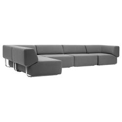 Noa sofa | Modular seating systems | Softline A/S