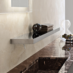 Steel tap-shelf | Wash basin taps | Toscoquattro