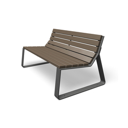Mayfield | Exterior benches | miramondo