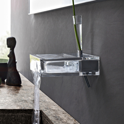 Glass tap-shelf | Wash basin taps | Toscoquattro