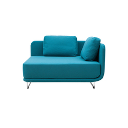 Setup chaise long | Modular seating elements | Softline A/S