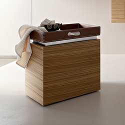 Object/towels holder on wheels | Tabourets / bancs salle de bain | Toscoquattro