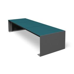 Passepartout HPL | Exterior benches | miramondo