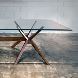 Milano rectangular table | Dining tables | Tisettanta