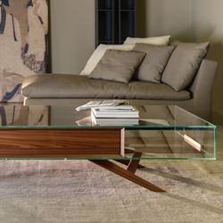 Milano crystal low table | Coffee tables | Tisettanta
