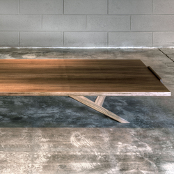 Milano wooden low table | Lounge tables | Tisettanta