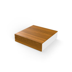 Low Collection | Box 25/90 | Tables basses de jardin | Viteo