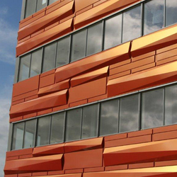 ALUCOBOND® Spectra | Cupral 913 | facade | Façades | 3A Composites