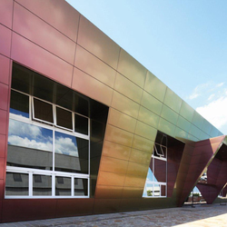 ALUCOBOND® Spectra | Red Brass 912 | facade | Metal sheets / panels | 3A Composites