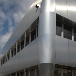 ALUCOBOND® naturAL PURE | Brushed 400 | facade | Façades | 3A Composites