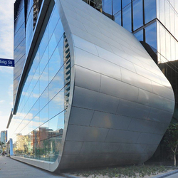 ALUCOBOND® naturAL PURE | Brushed 400 | facade | Facade design | 3A Composites