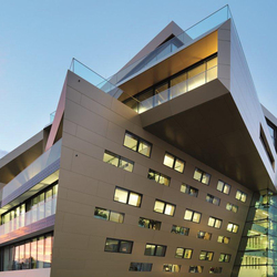 ALUCOBOND® Metallic | Gold metallic 601 | facade | Facade design | 3A Composites