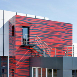 ALUCOBOND® design | Art/Fashion | Zebra Grey D0026 | facade | Façades | 3A Composites