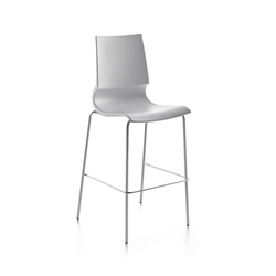 Ricciolina High stool polypropylene | Bar stools | Maxdesign