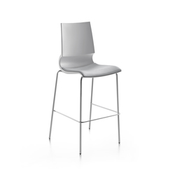 Ricciolina High stool with seat cushion | Bar stools | Maxdesign