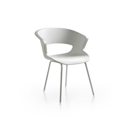 Zed 4 legs in polypropylene | Chaises de restaurant | Maxdesign