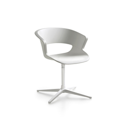 Zed swivel base in polypropylene | Visitors chairs / Side chairs | Maxdesign