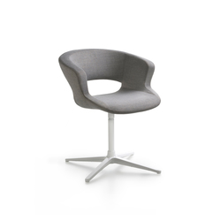 Zed swivel base upholstered | Besucherstühle | Maxdesign