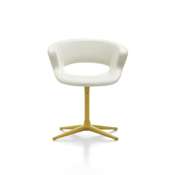 Zed swivel base upholstered | Visitors chairs / Side chairs | Maxdesign