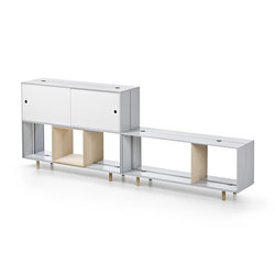 Offset Shelf | Caissons | Maxdesign