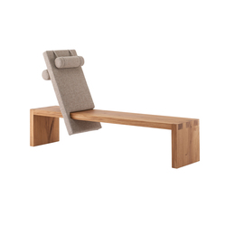 core reclining bench seat | Chaise longues | rosconi